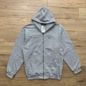 💨 *NEW* 90s Nike Essential Full Zip Hoodie (Sz M)